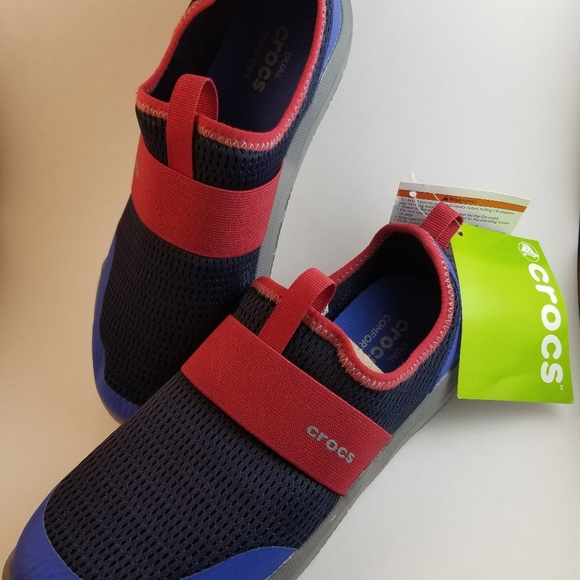 53fbd7b03457 Crocs Swiftwater Easy-on Shoe. Kids Size 3 junior